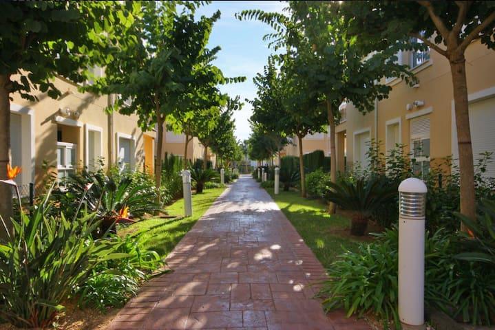 Residencial tranquilo y acogedor - Platja de L'arenal - Departamento
