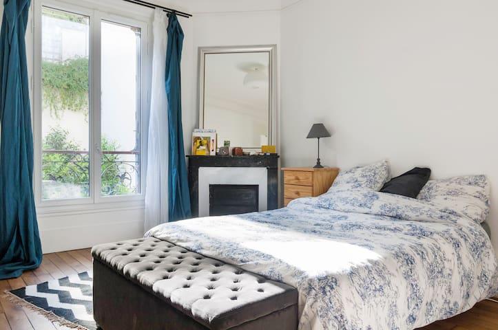 Spacious bedroom - Saint-Denis - Apartamento