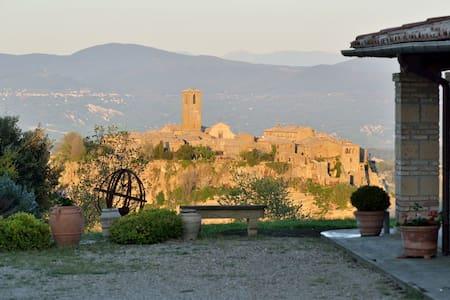 Agri Panorama Civita di Bagnoregio - バニョレージョ - 別荘