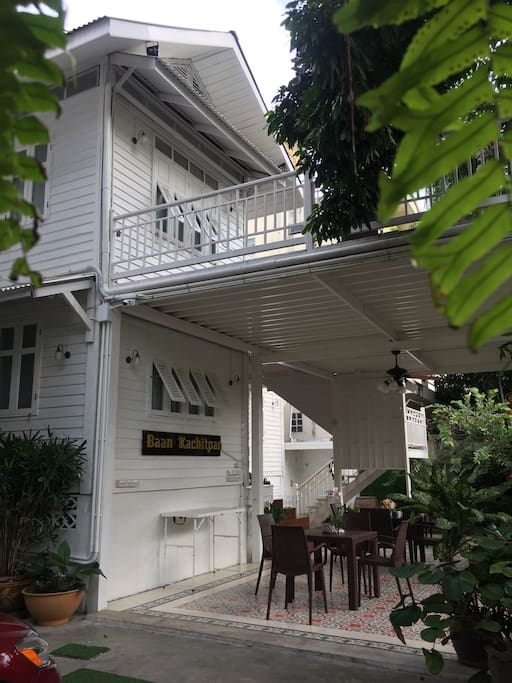 77 years old Thai style house