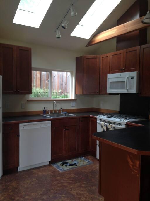 full kitchen, all new equipment