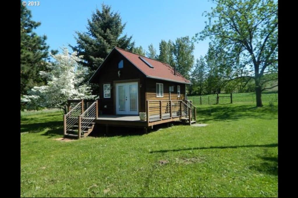Lavender Farm Private Retreat Cabins For Rent In Hood