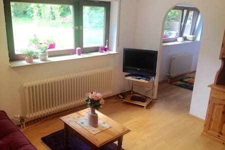 Lovely flat, next to Stein am Rhein - Öhningen - Apartament
