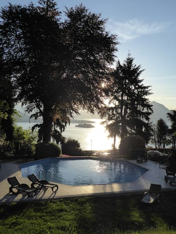 Ventidue - Pool, Garden & Spectacular Views - Baveno - Apartemen