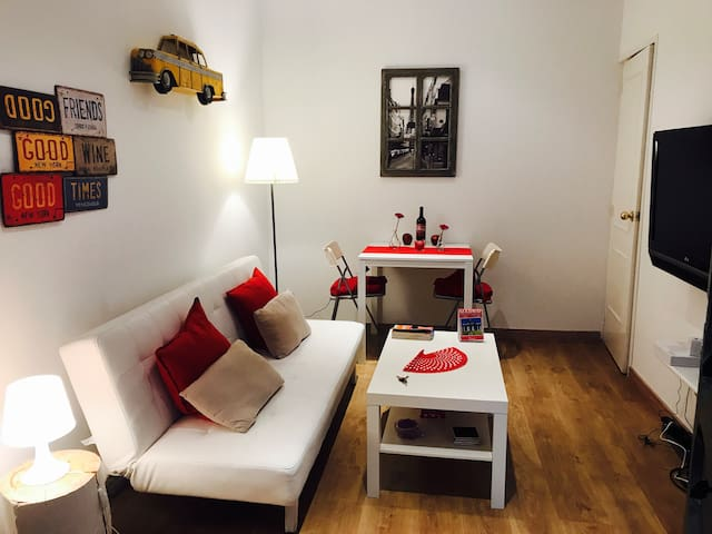 Apartment centrally located and newly renovated