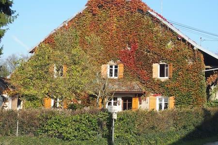 maison de village sur terrain clôt - Casa