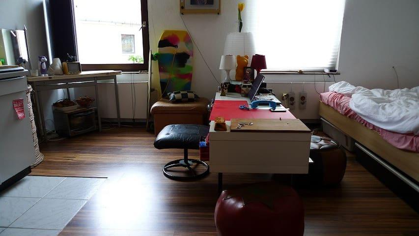 1-Zimmer-Wohnung ERLANGEN Downtown - Erlangen - บ้าน