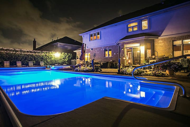 Luxury Home with In-Ground Pool - Master Bedroom