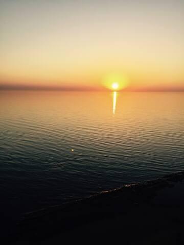 Каспийское море у ваших ног!