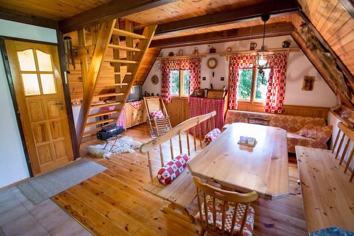 Log House Háje – Českokrumlovsko - Holubov - Hostel