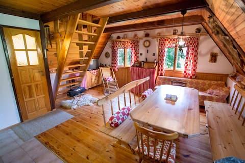 Log House Háje – Českokrumlovsko