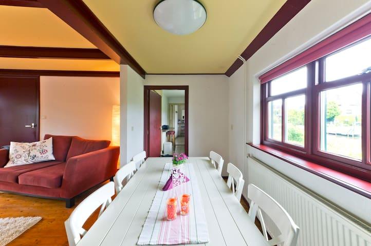 Gemütliches Ferienhaus-Norden von Groningen- 6pers