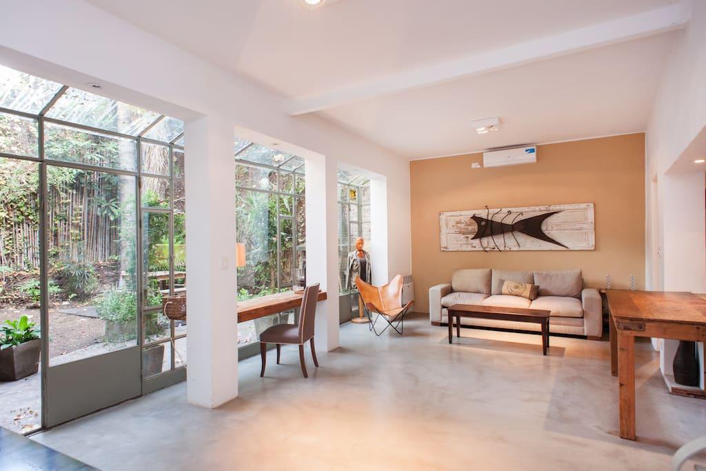 Casa con jardin en palermo soho houses for rent in for Casa jardin buenos aires