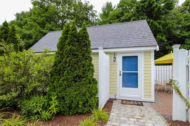 The Cottage is a cozy getaway for two, nestled in the charming village of Cotuit on Cape Cod!