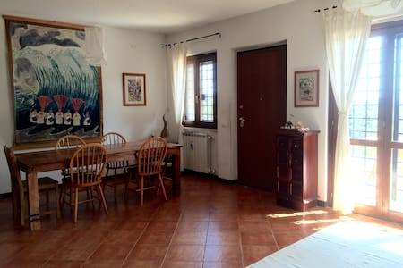 Double Room in Willow House - Riano - Villa