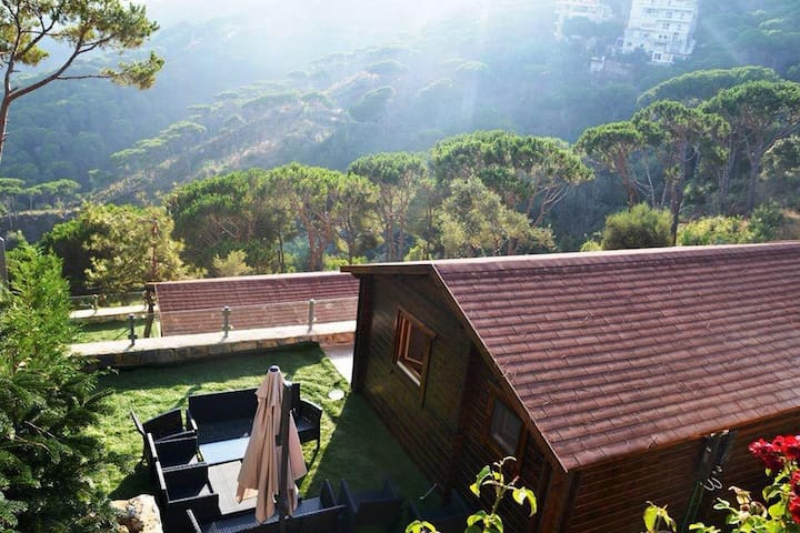 Pineville Lebanon 1 Bedroom Chalet - Broumana - Chalé