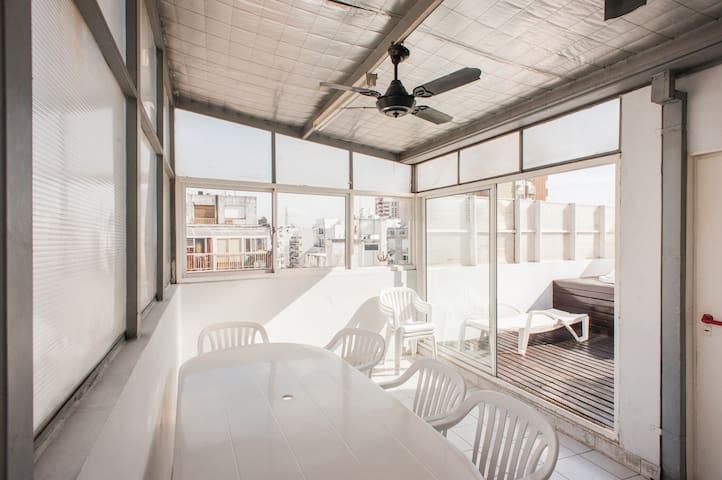 Luminous 2bedroom apartment Palermo