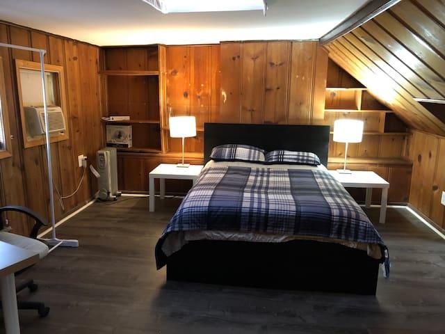 Bedroom at attic