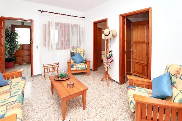 Casa de 3 habitaciones en El Golfo, Lanzarote, con terraza y WiFi - a 500 m de la playa