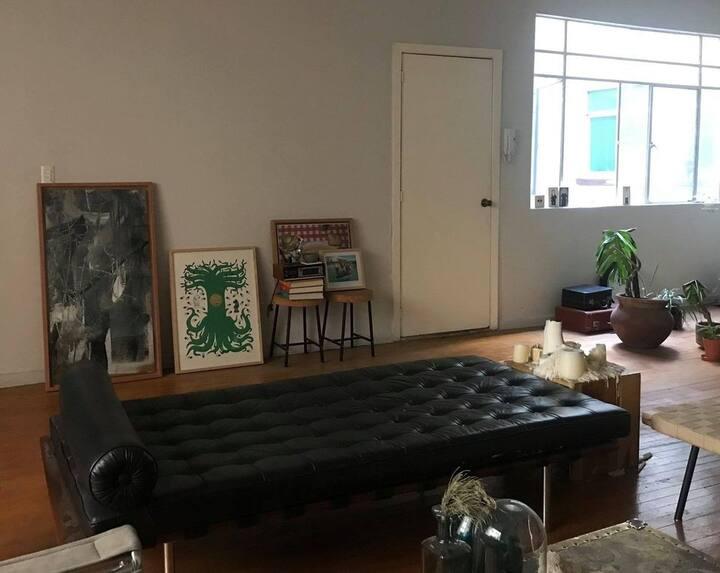 Comfy room in Colonia Juárez.