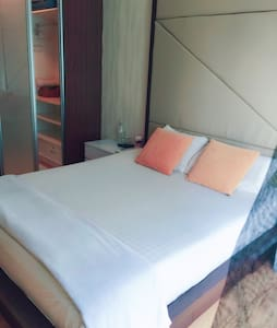 Private room+private shower nearTBS - Apartemen