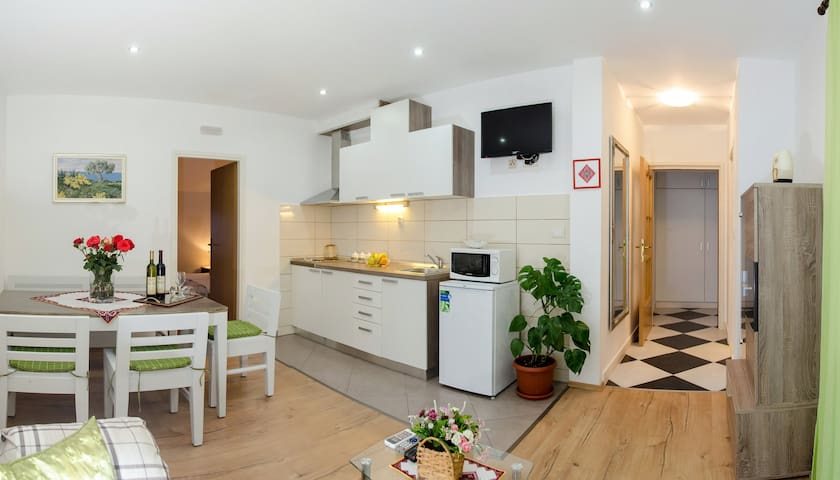 one-bedroom apartment with balcony - Cilipi - Apartemen