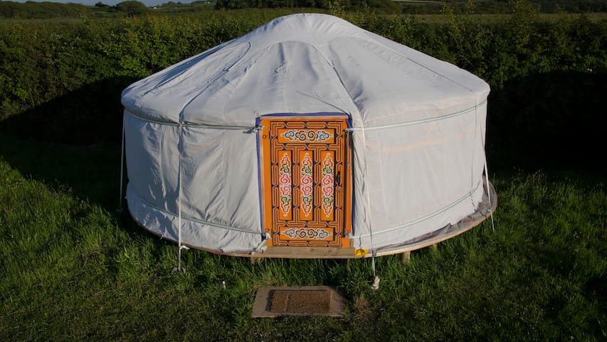 Cosy Yurt in Peaceful Eco retreat - bude - Yurt