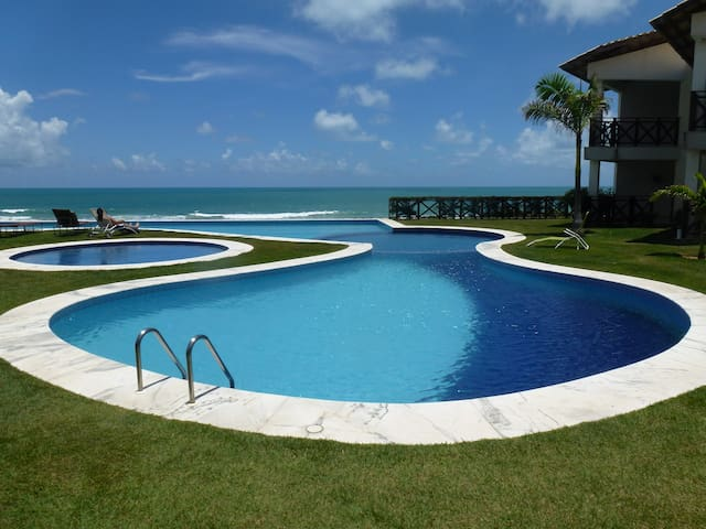 Beautiful beachfront apartment      - Natal - Lakás