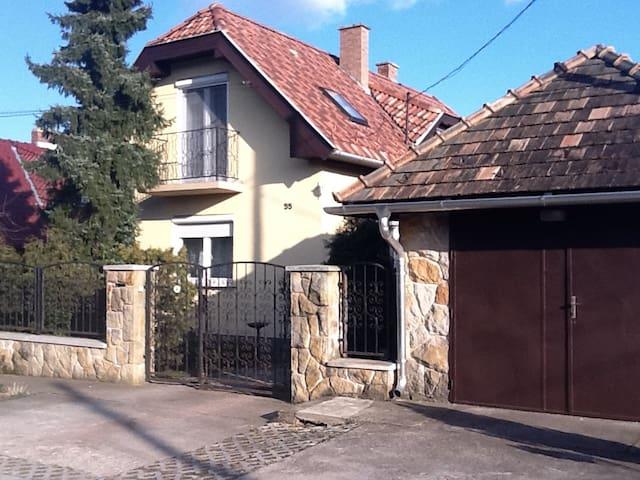 Experience Hungarian Local Life! - Pilisvörösvár - Huis