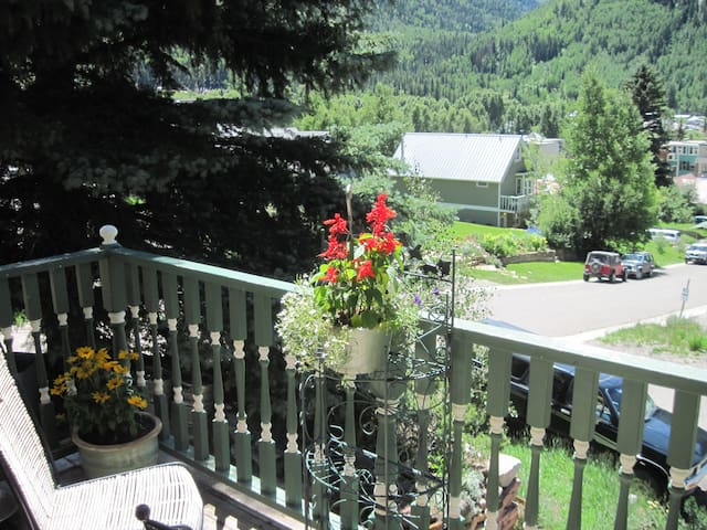 Cozy Two Rooms & Large Bath in Quiet Street - Telluride - Talo