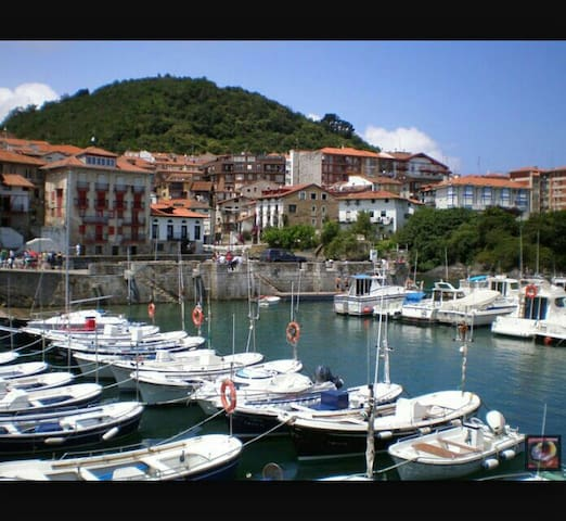Historic house in Mundaka's heart. - Mundaka - Lejlighed