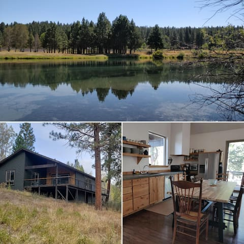 River Cabin w/Private Dock Near Crater Lake *WiFi*