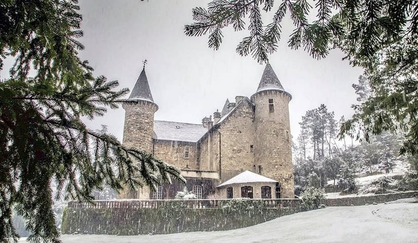 Fairytale 14th century French Chateau