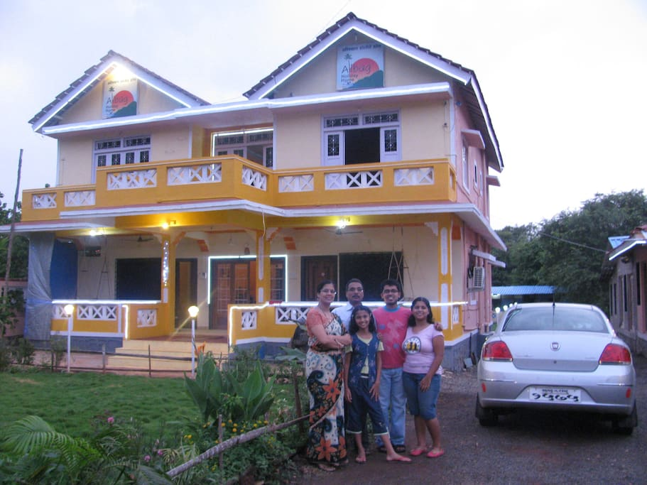 8 bedroom gest house
