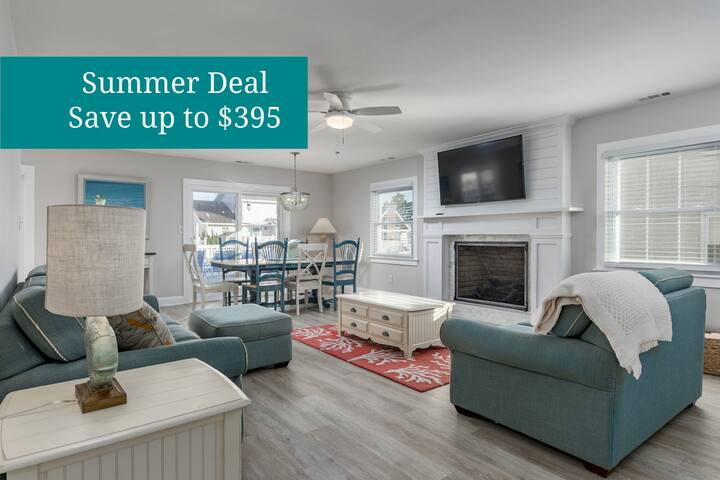 10618 Point Lookout - Renovated Waterfront Home, Grill, Boat Slip!
