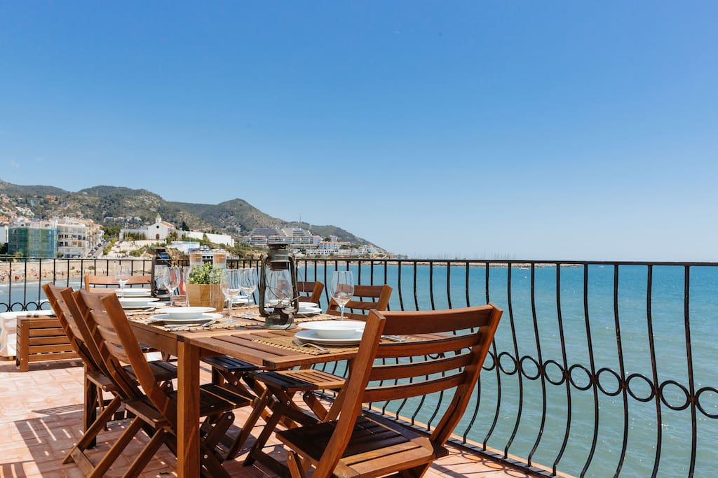 The best sea wiev in Sitges is now exclusively yours