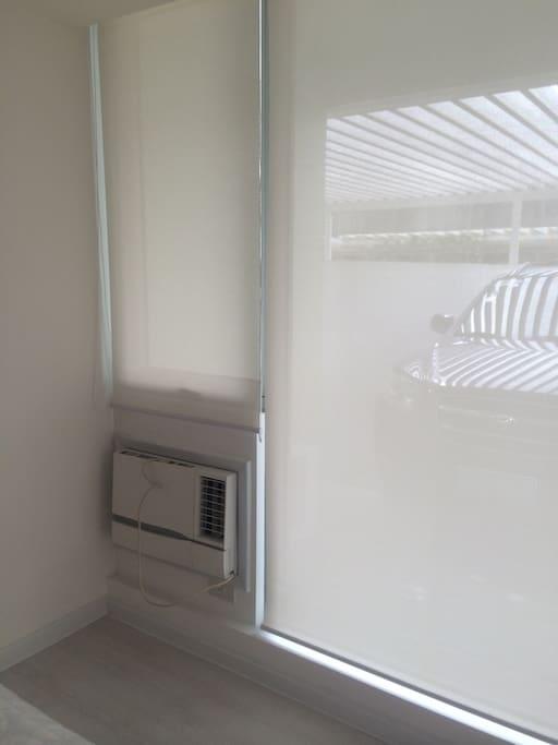 Window type ac