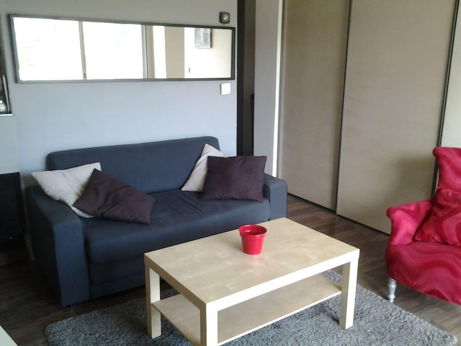 Canapé-lit 2 places