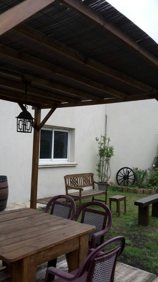 espace jardin tres confortable