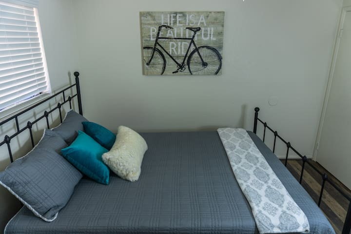 Life is a beautiful ride! Newly remodeled bedroom!