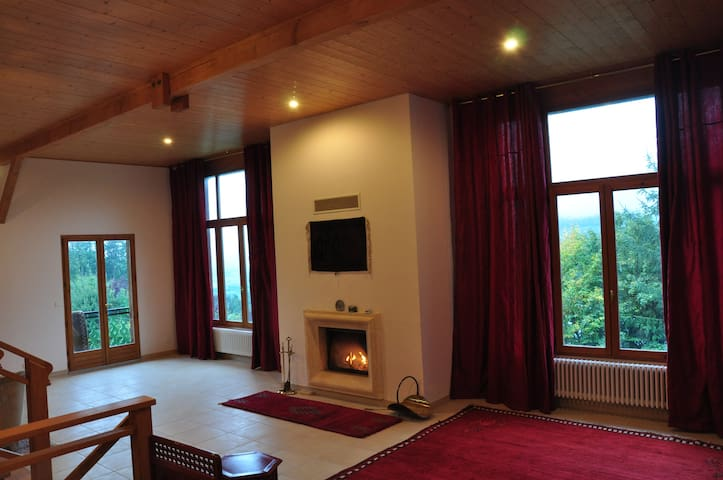 Charming apartment in chalet - Villard - Leilighet