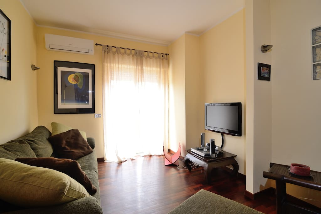 Living room, TV and Audio System