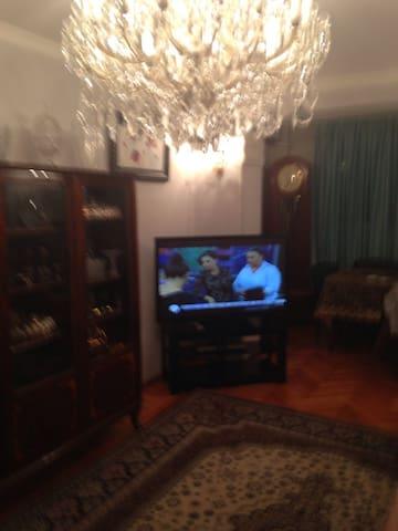 Центр Баку 2 комнаты Все Условия