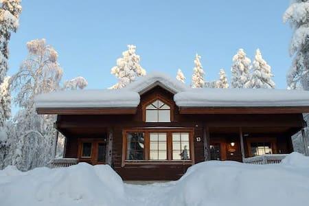 Mökki, Levi - Cabin, Lapland - Kittilä - Blockhütte