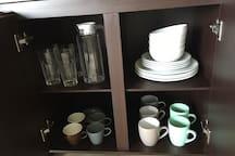 plates, bowls, jars, and mugs!