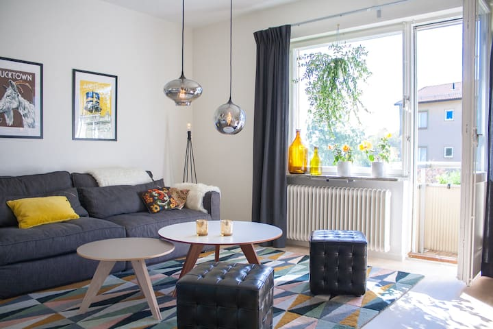 Delightful apartment with balcony - Stockholm - Apartment
