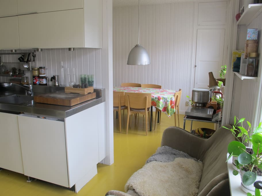 Kök och matrum