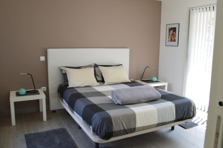 aparte gezellige slaapkamer