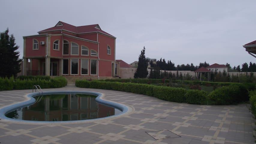 Вилла 15 км от Баку Все Условия