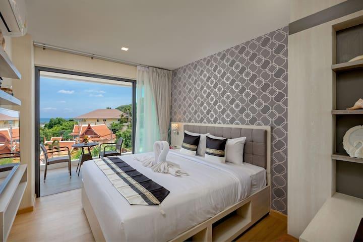 Kata Sea View Resort - Deluxe Sea View